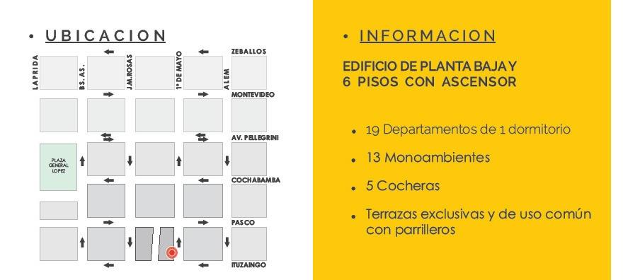 depto 1 dormitorio al pozo - cercano a universidades - financiacion en pesos