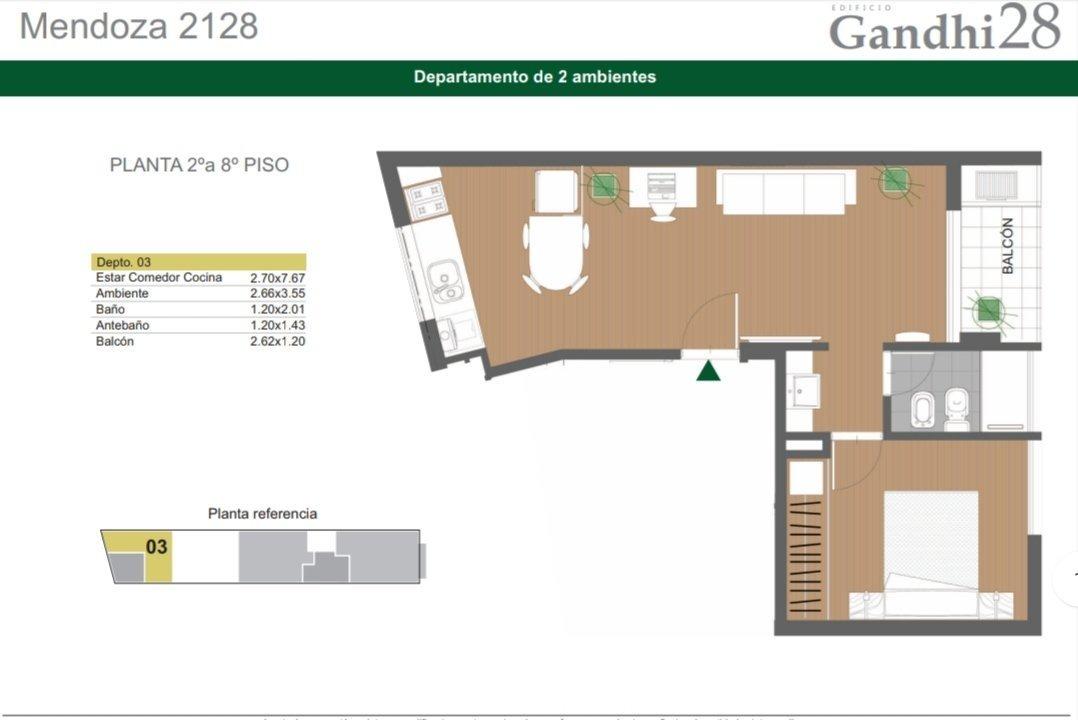 depto 1 dormitorio centrico - alternativas con financiacion - zona sanatorios y universidades