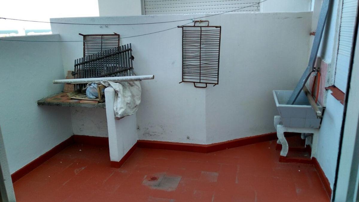 depto 2 amb con dependencia, patio y balcón. punta mogotes!