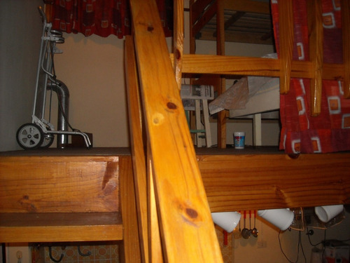 depto 2 amb. ed. hugolito v, 3º piso escalera