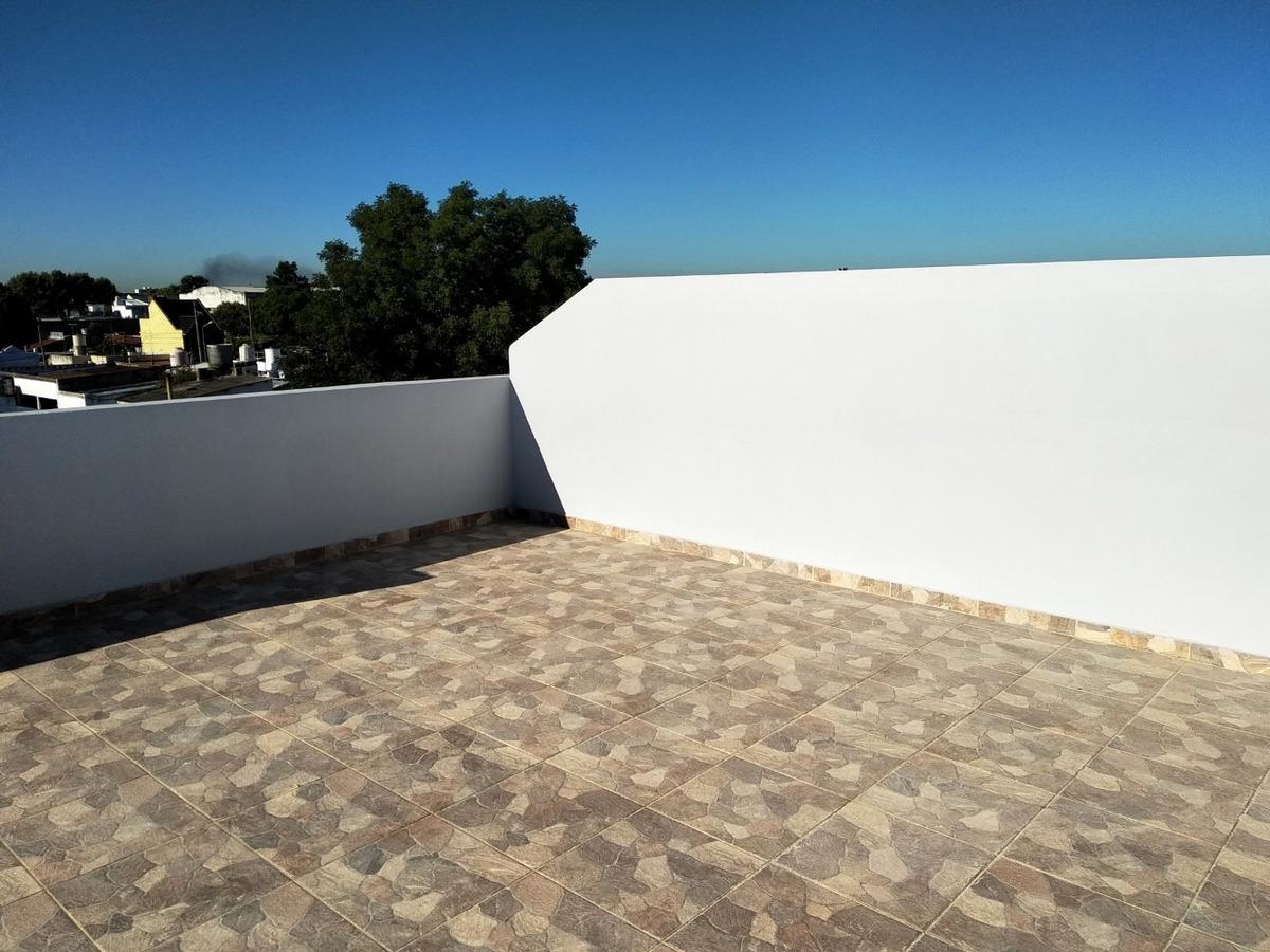 depto 2 amb en venta al contrafrente con terraza v.luzuriaga