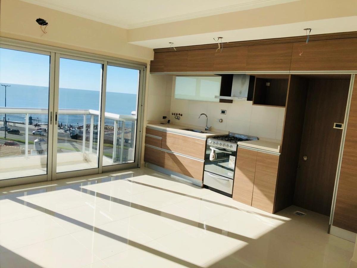 depto. 2 ambientes con vista al mar a estrenar en zona perla norte en venta!