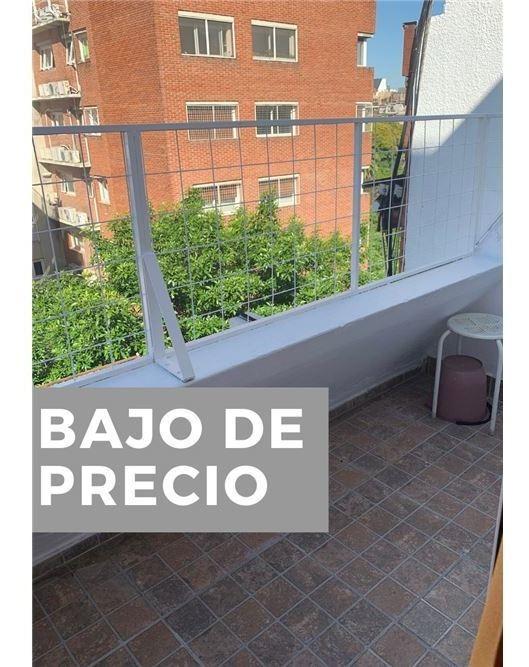 depto 2 ambientes renovado en belgrano con balcon