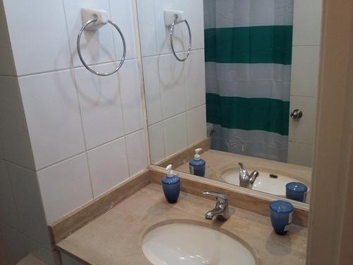 depto 2 dorm 2 baños, metro sta isabel arriendo amoblado