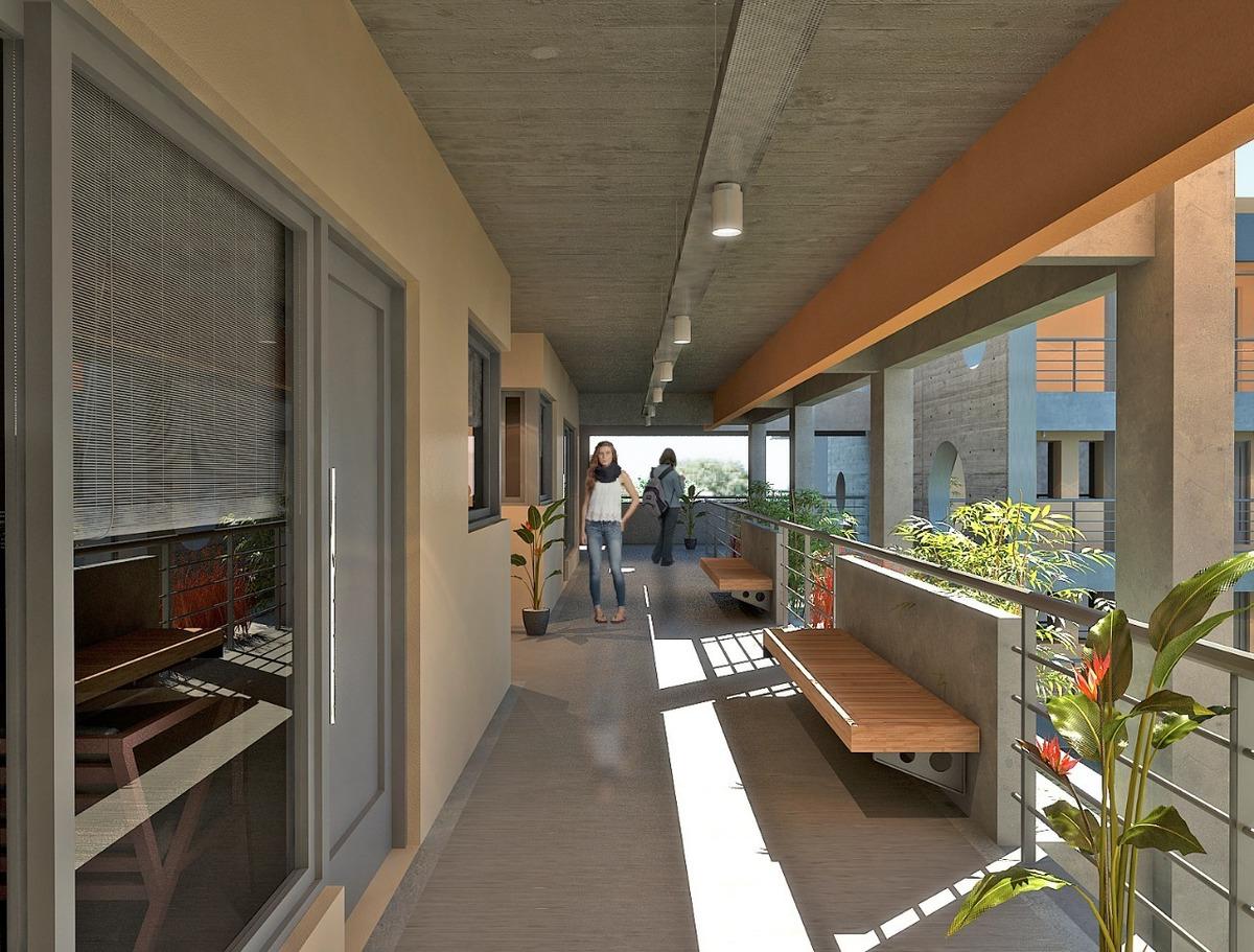 depto 3 amb balcón terraza sum parrilla en cañuelas urbano