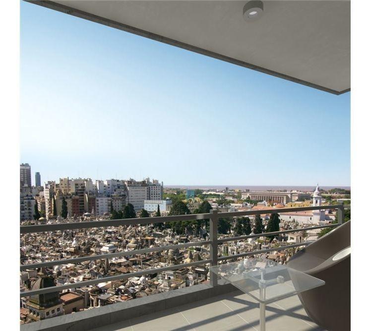 depto 3 amb recoleta terraza vista panoramica