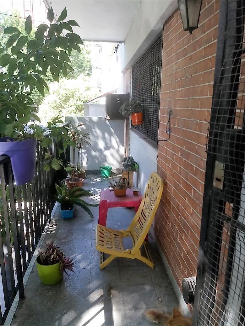 depto 3 ambientes al frente con balcón en palermo soho.