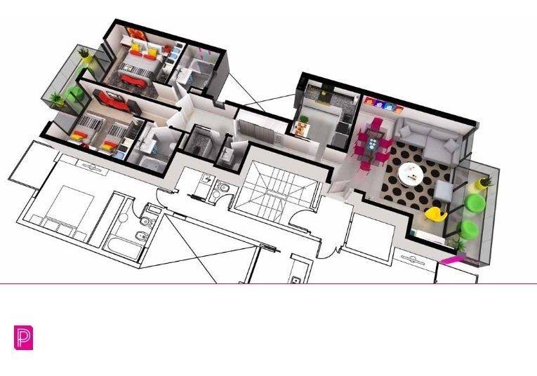 depto 3 ambientes con cochera a estrenar. developer vii pop art