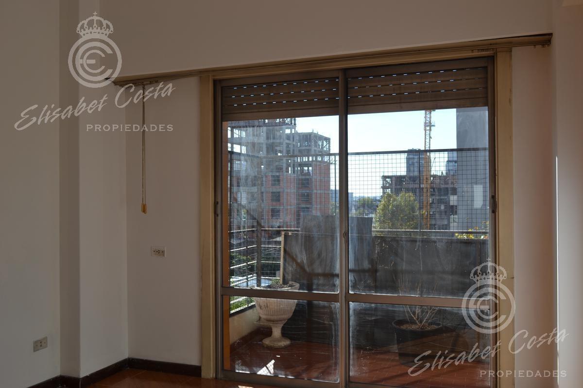 depto 3 ambientes con cochera cubierta, balcon al frente