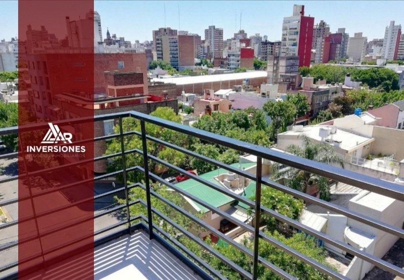 depto a estrenar 1 dormitorio - balcon y terraza exclusiva - macrocentro