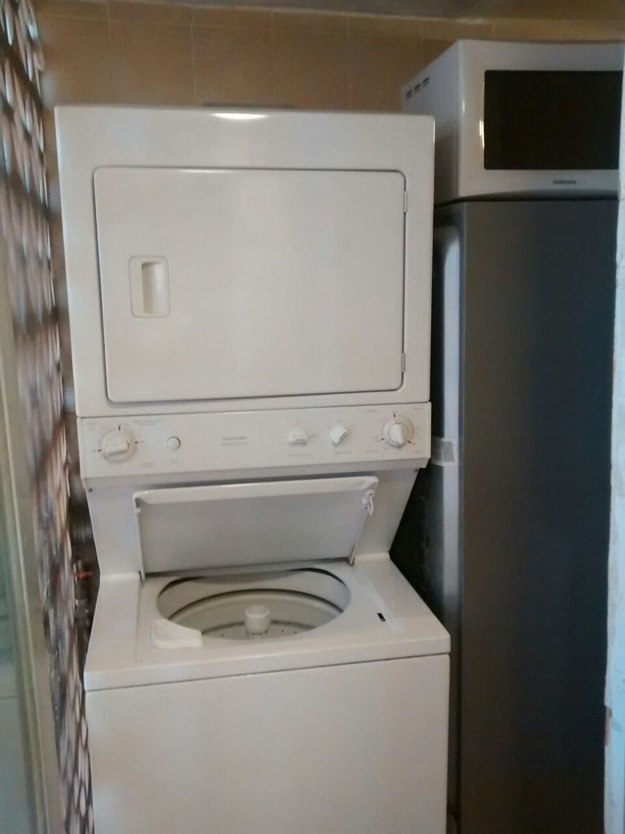depto amueblado 2 rec sala comedor cocina baño refrigerador