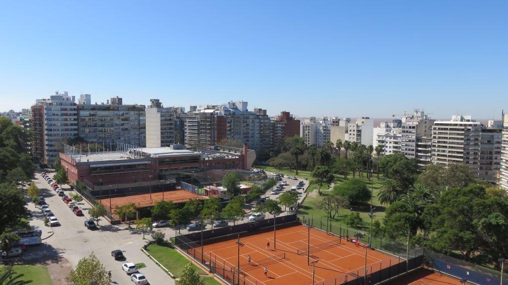 depto con vista al parque villa biarritz - piso 10 - 2 garajes