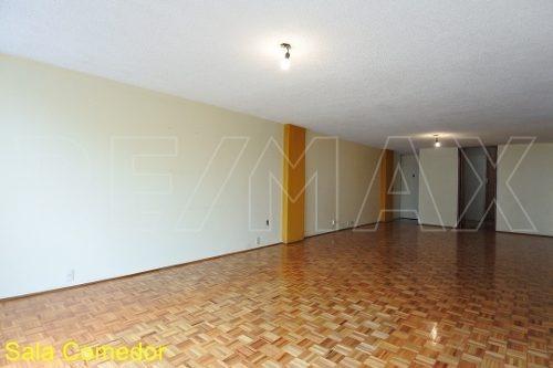 depto de 140 m2, 2r / 2b / 1a