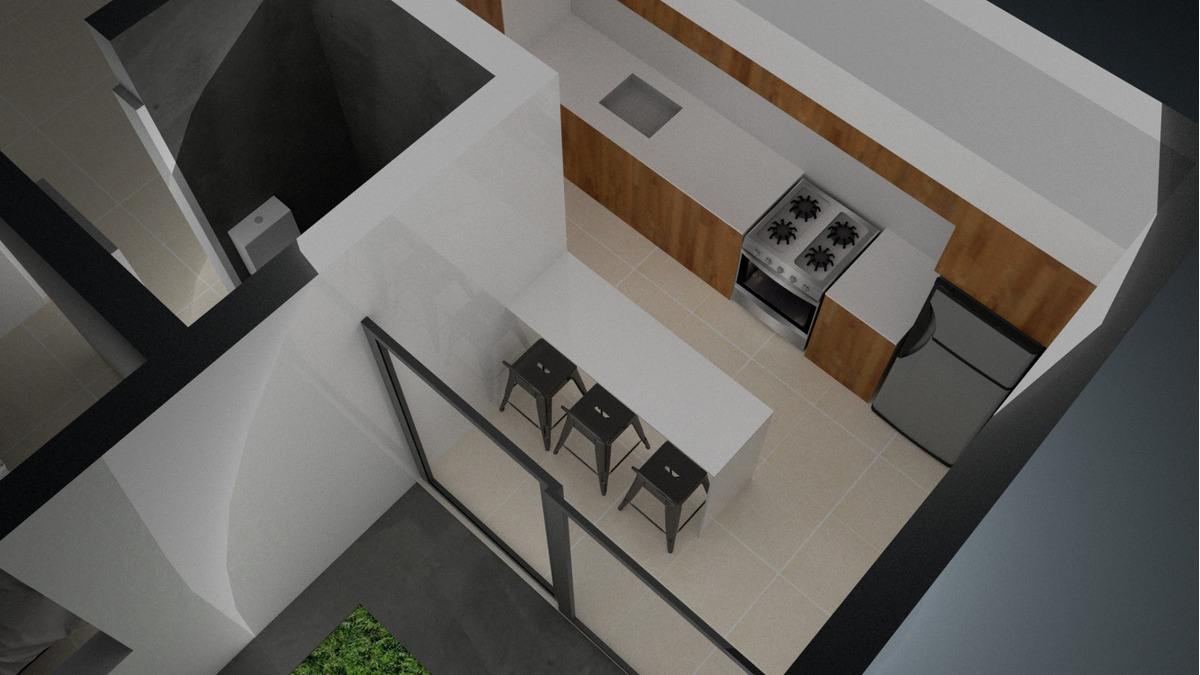 depto de pasillo de 2 dormitorios con patio - abasto - cercano al parque independencia - permuta