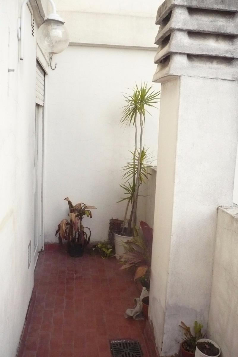 depto en  venta 1 ambiente divisible con balcon patio