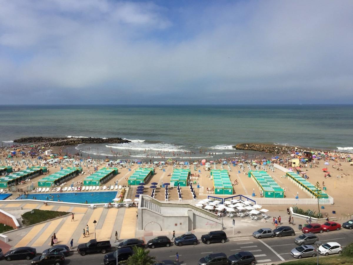depto  frente al mar con bajada a la playa