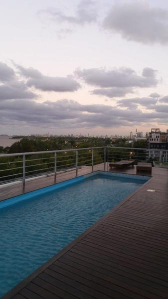 depto. moderno con amenities, a metros del río, 2 amb. 1 baño