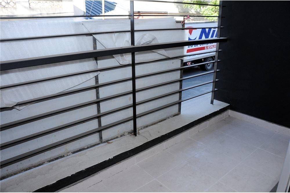 depto monoambiente estrenar, frente con balcón