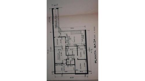 depto pasillo planta baja 3 dormitorios c/ patio
