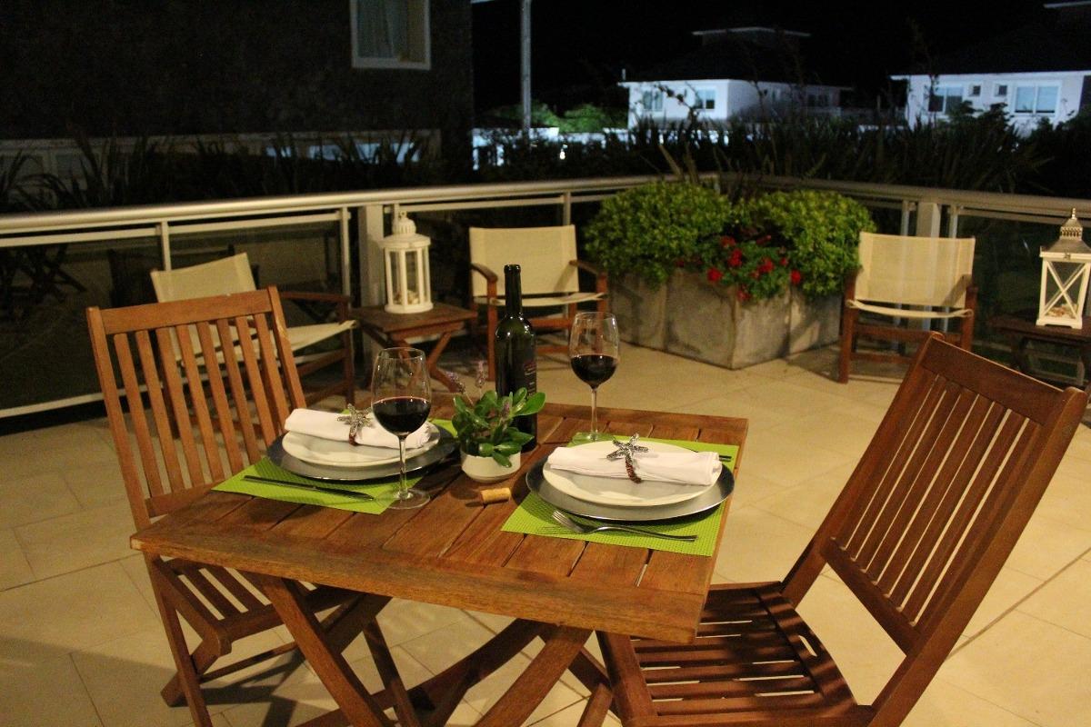 depto premium de 2 ambtes. c/terraza de 60 mt sobre el mar