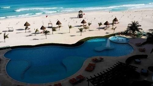 depto renta cancún frente al mar 3 rec. 3 baños de 240 m2