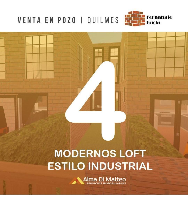 deptos tipo casa de 3 ambientes - venta en pozo