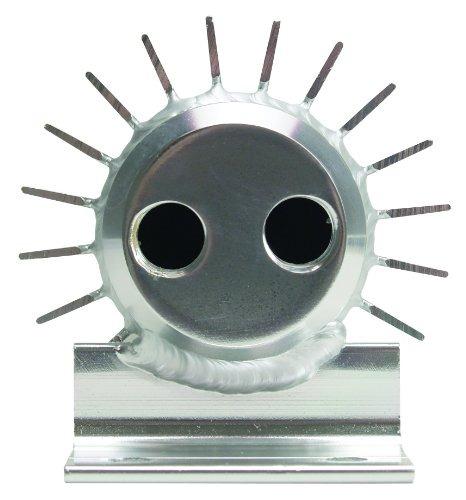 Derale 13260 Dual Pass Aluminum Heat Sink Cooler