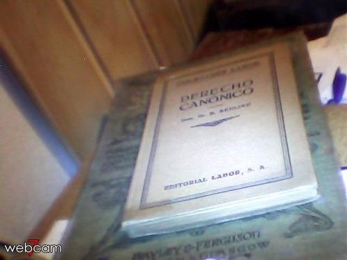 derecho canonico dr. e. sehlino