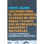 Libro Lecciones Para El Inconformista Aturdido Irene Lozano