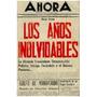Libro, Los Años Inolvidables De Oscar Yanes.