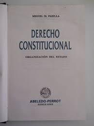 derecho constitucional derecho
