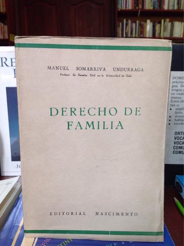 derecho de familia - manuel somarriva undurraga - nascimento