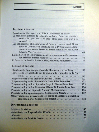 derecho de familia revista interdisciplinaria perrot 1992