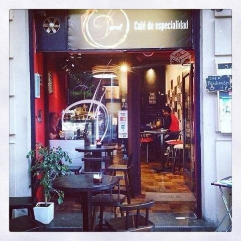 derecho de llave cafetería, local en santiago, bellas artes.