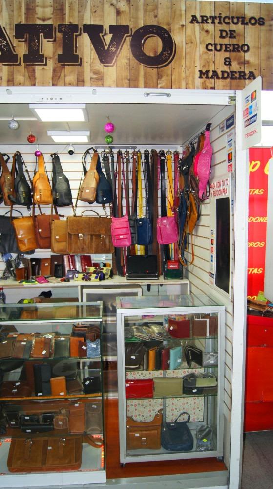 derecho de llave local venta de articulos de cuero.