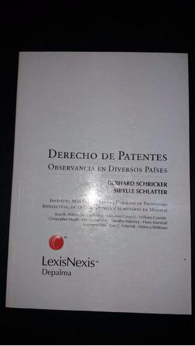 derecho de patentes ( schricker,  - schlatter)