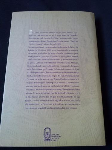 derecho eclesiastico del estado de chile por jorge precht p.