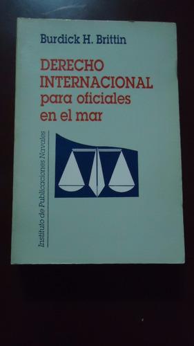 derecho internacional para oficiales en el mar -  brittin