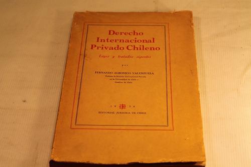 derecho internacional privado chileno fernando albonico