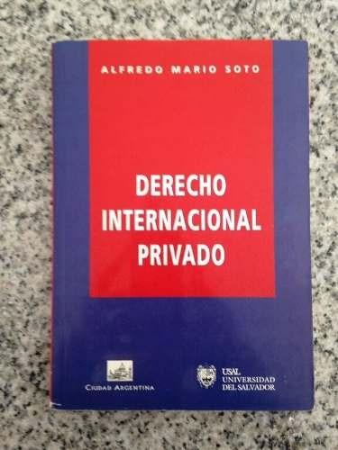 derecho internacional privado de alfredo mario soto - usal