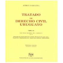 Gamarra 15 - Representación - Tratado Derecho Civil Uruguayo