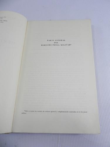 derecho penal militar. renato astrosa. 1971