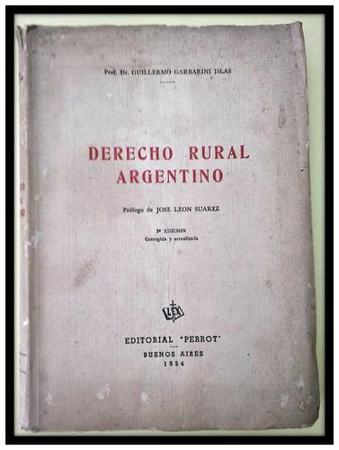 derecho rural argentino garbarini islas