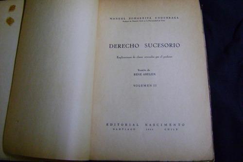 derecho sucesorio - manuel somariva (2 tomos completo)