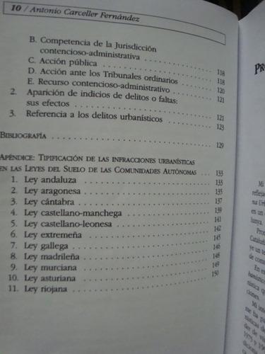 derecho urbanístico sancionador - a. carceller fernández