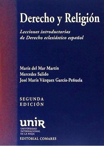 derecho y religión : lecciones introductorias de derecho ecl