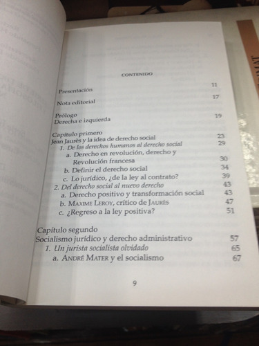 derecho y socialismo en el pensamiento juridico - c. herrera