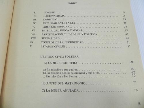 derechos de la mujer. leyes chilenas 1986