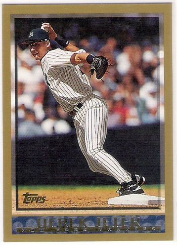 derek jeter 98 new york yankees topps 160
