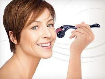derma roller. 0.5 arrugas,estrías,acné. celulitis,obsequio